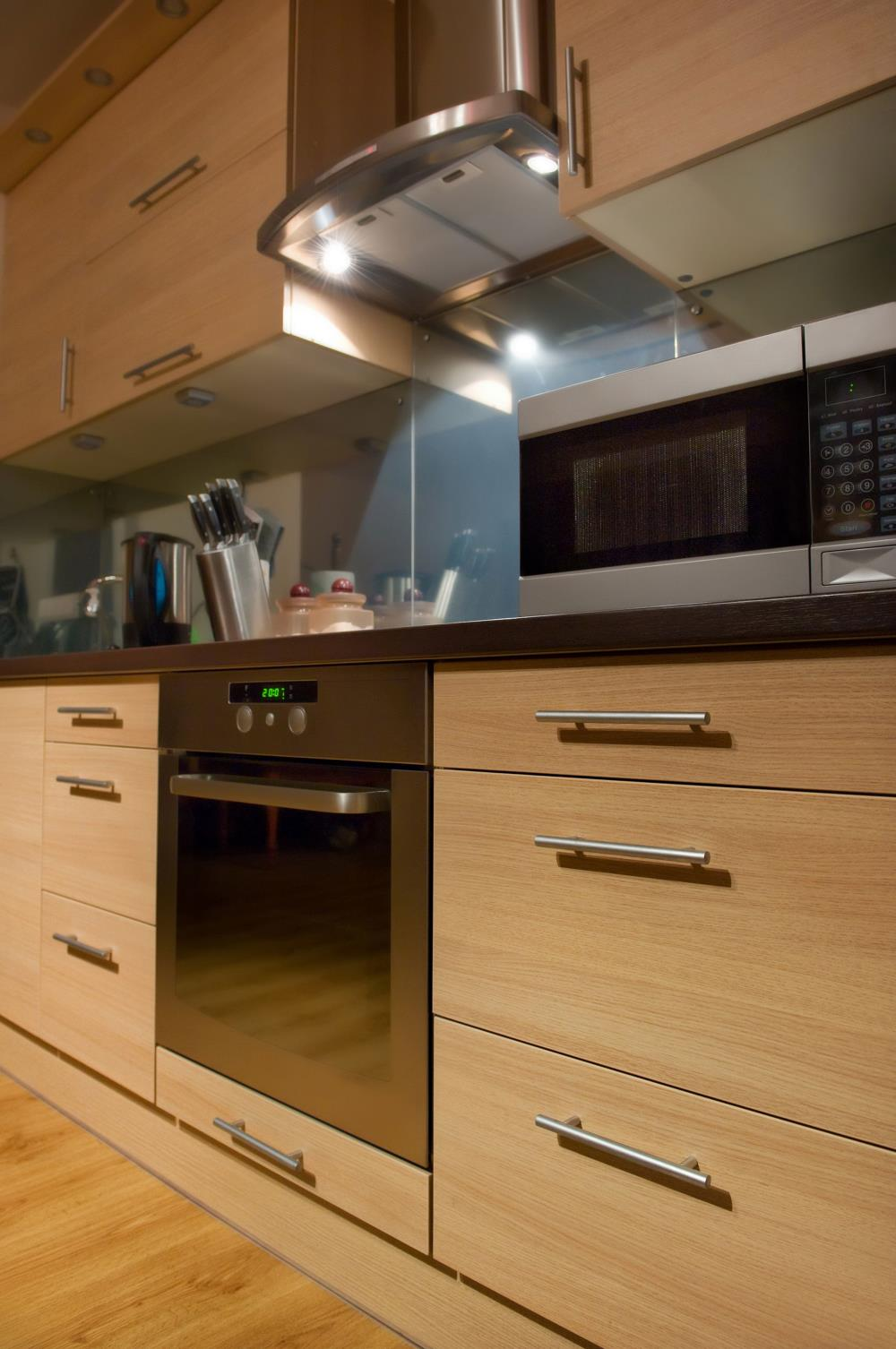 Light Wood Modern Kitchen